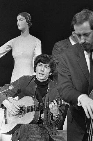 Boudewijn de Groot in 1966.