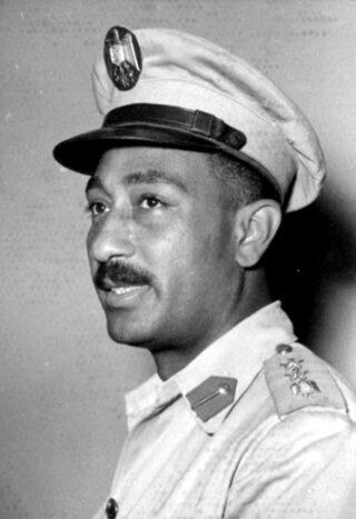 Anwar Sadat in 1953