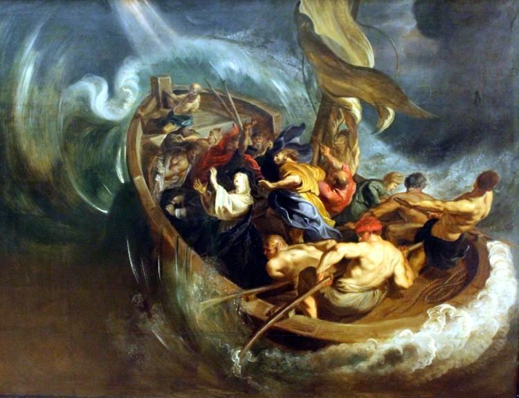 Het scheepswonder van Walburg, schilderij van Pieter Paul Rubens, 1610
