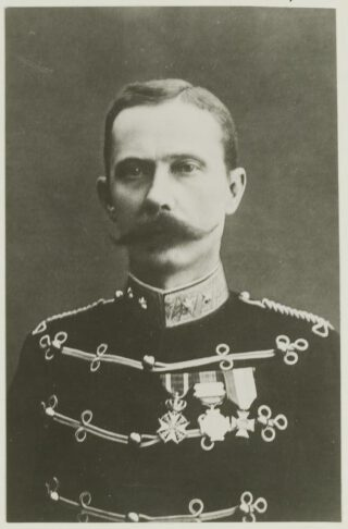 Luitenant-kolonel B.W.A. Scheepens, circa 1895