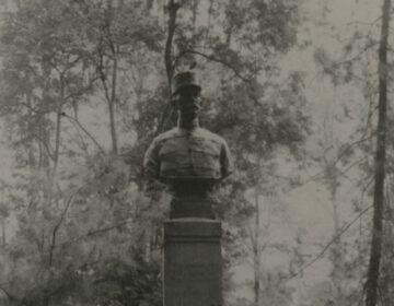 Graf van de luitenant kolonel Scheepens, op het militair kerkhof Peutjoet te Atjeh