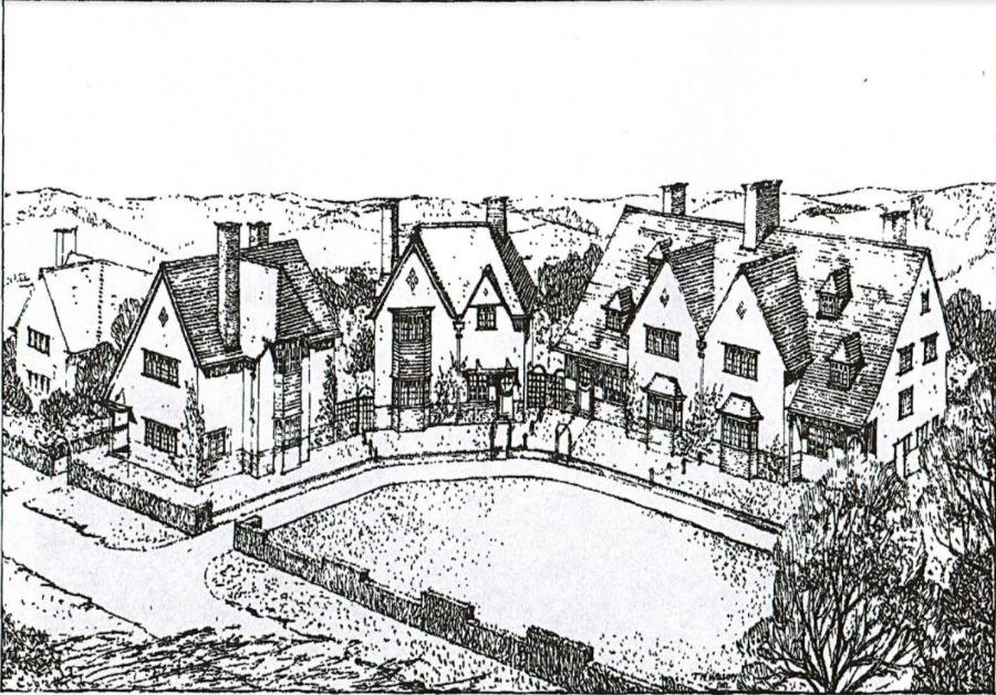 Hamstead cottages