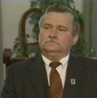 Lech Walesa in 1991