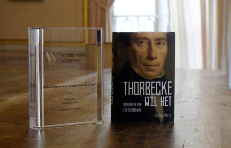 'Thorbecke wil het'm het winnende boek