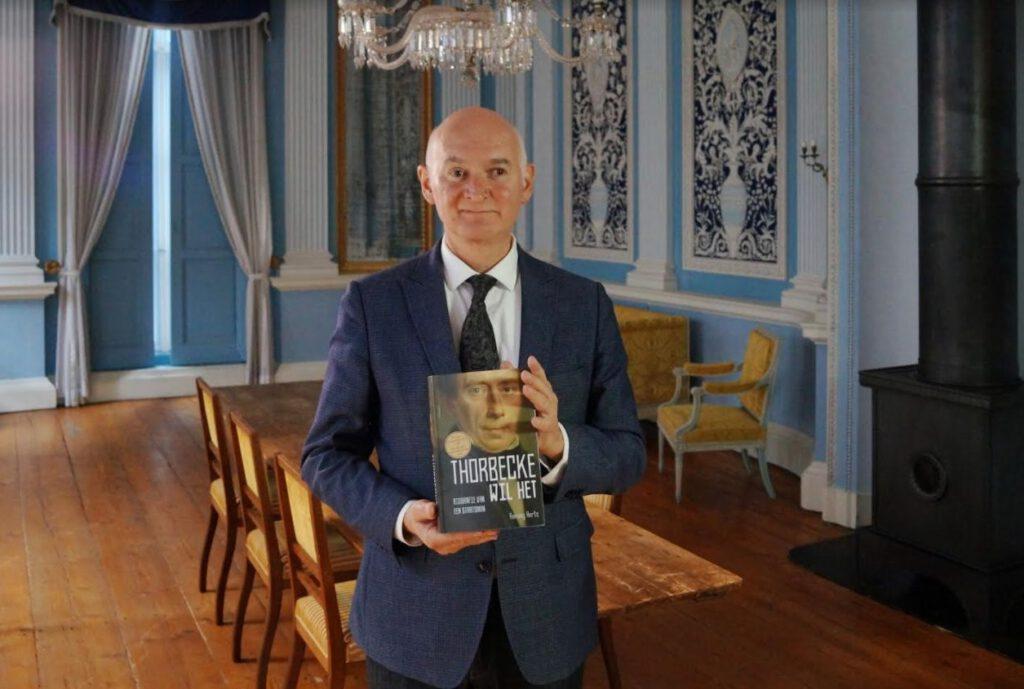 Remieg Aerts, winnaar van de Biografieprijs 2020 met zijn boek