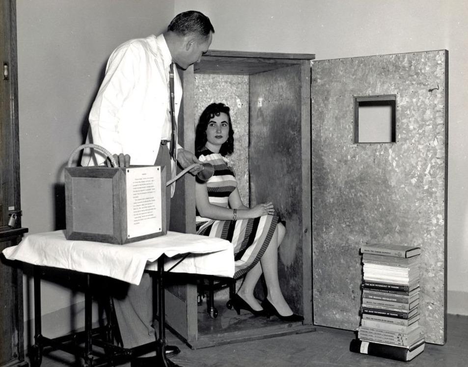 Demonstratie van een orgonen accumulator
