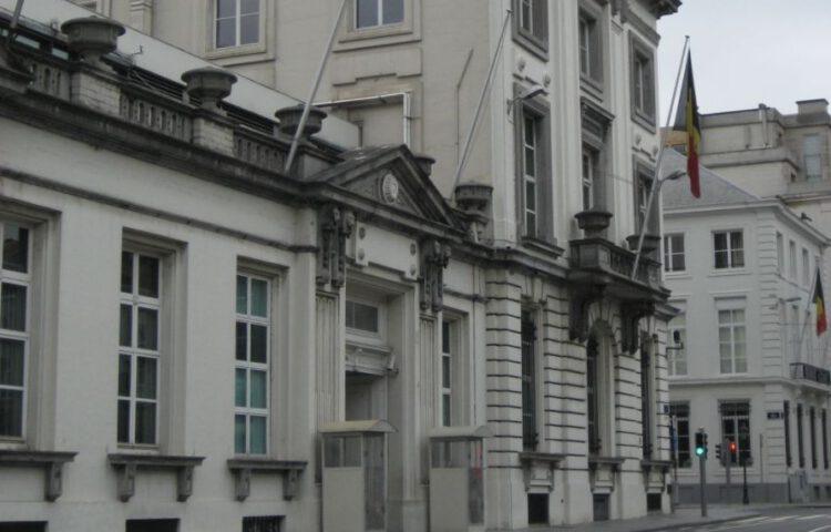 Wetstraat 16 in Brussel