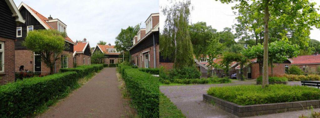 Disteldorp (l) en Vogeldorp