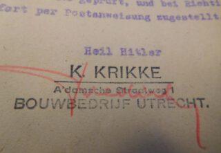 Krikke brengt de Hitlergroet – Archief gemeente Callantsoog