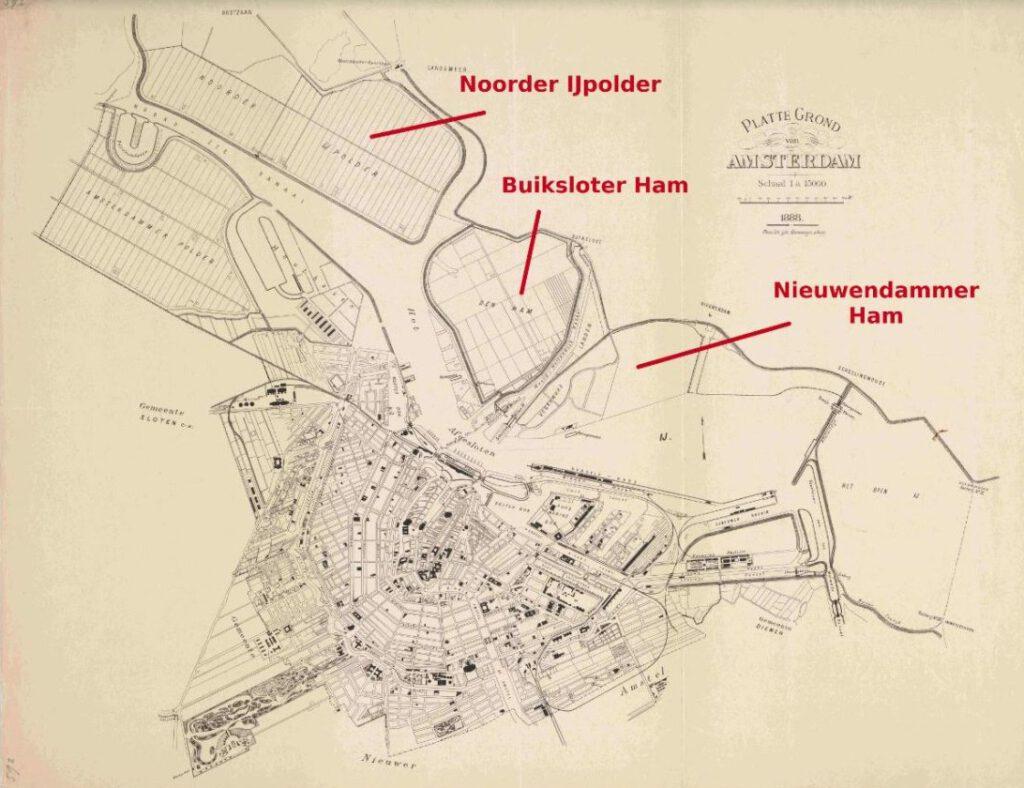 Amsterdam-Noord in 1888