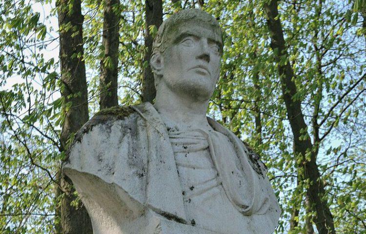Buste van Loukianos in Nordkirchen