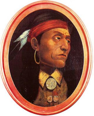 Chief Pontiac (schilderij van John M. Stanley)
