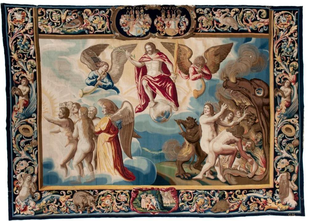Wandtapijt van het Laatste Oordeel, 1634-1647