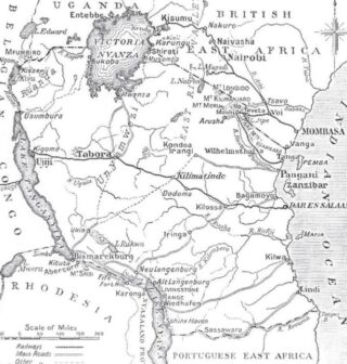 Duits Oost Afrika, 1914-1918