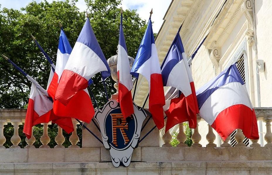 Franse vlaggen