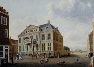 Het Schielandshuis in 1780