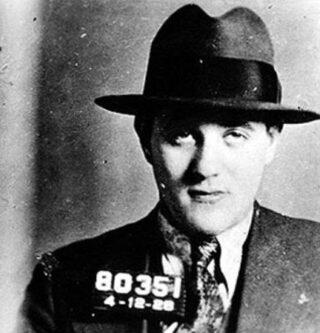 """""""Bugsy"""" Siegel na zijn arrestatie (1928)"""