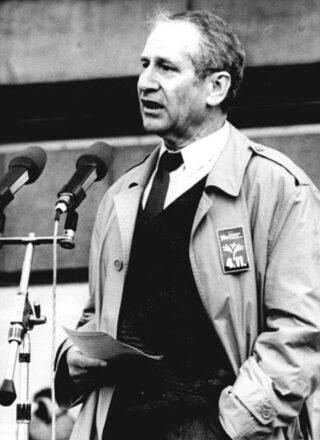 Markus Wolf in 1989