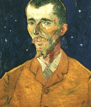 Vincent van Gogh, Portret van Eugène Boch, 1888, Musée d'Orsay, Parijs