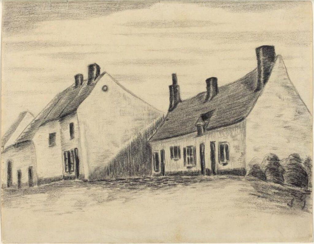 La Maison de Zandmennik - Vincent van Gogh?!