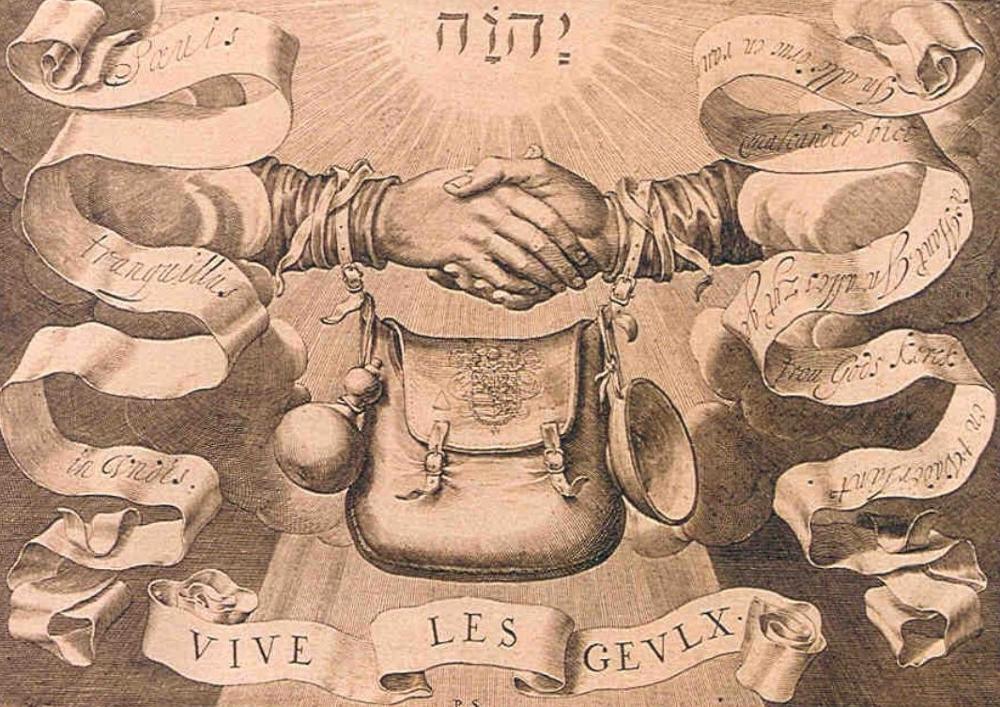 Traditioneel embleem van de Geuzen