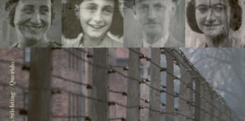 Margot en Anne Frank in Bergen-Belsen