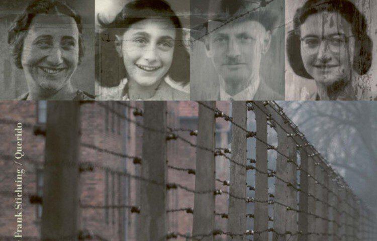 De familie Frank, fragment van de cover van Na het Achterhuis