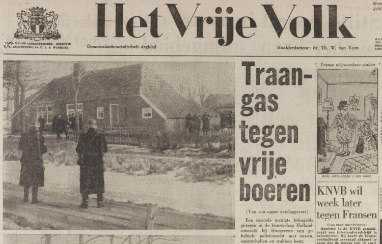 Over Hollandscheveld in Het Vrije Volk van 6 maart 1963. (Delpher)
