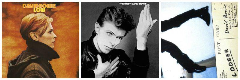 De Berlijn-trilogie van David Bowie
