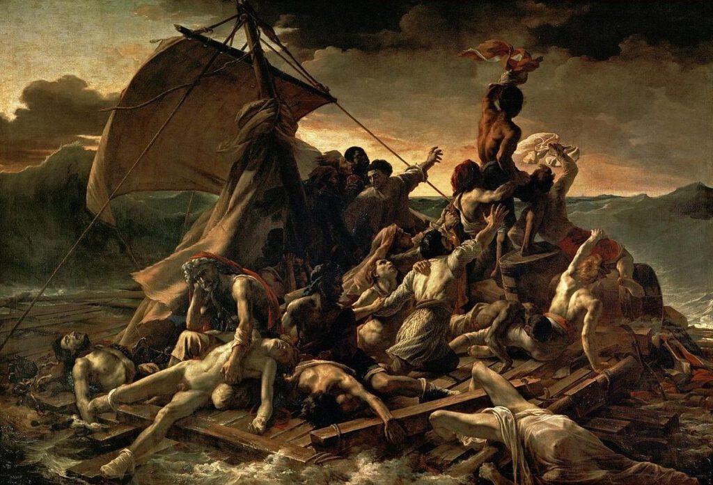 Le Radeau de la Méduse (1818–1819) - Théodore Géricault