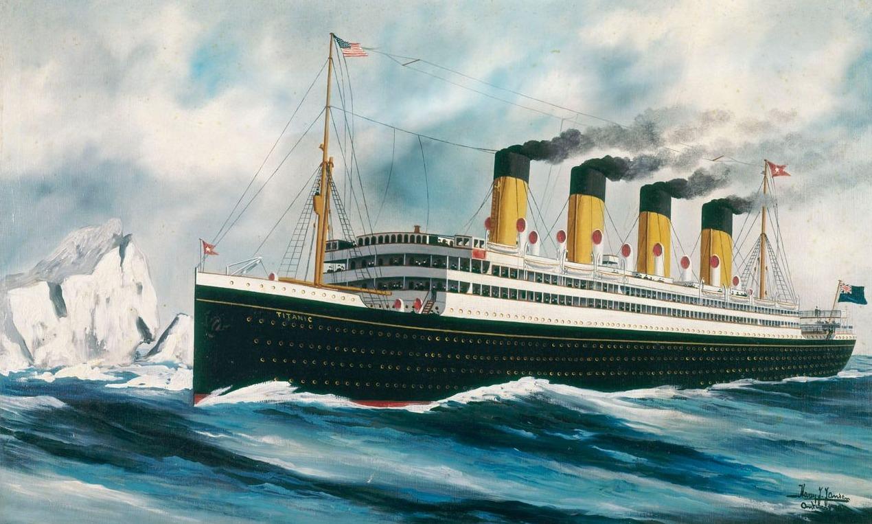 De Titanic - Harry J. Jansen