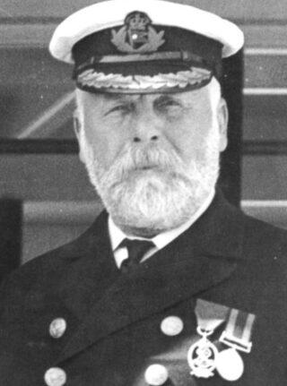 Edward Smith, kapitein van de Titanic