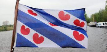 De vlag van Friesland – Geen hartjes maar pompeblêdden