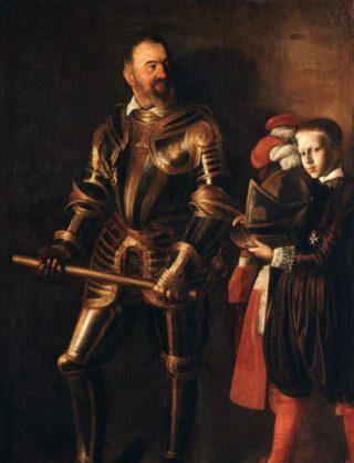 Alof de Wignacourt en zijn page / schildknaap