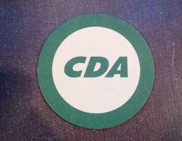 CDA-bierviltje