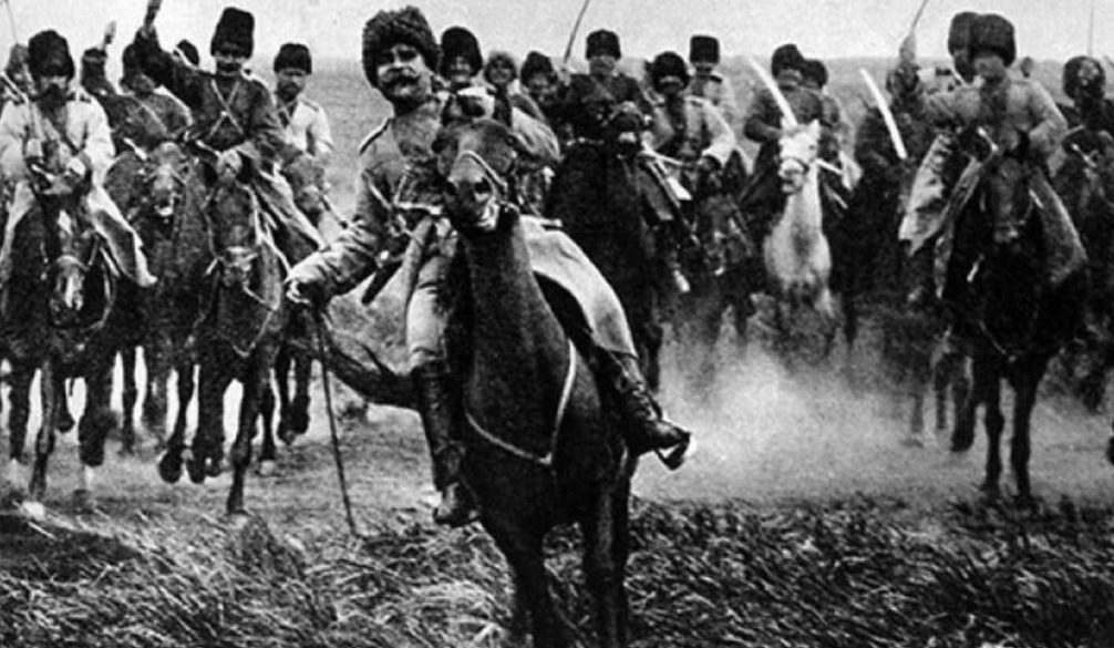 Broesilov-offensief - Aanval van de Russische cavalerie
