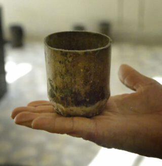 Oude koffiemok uit het Koninkrijk Kaffa in Ethiopië