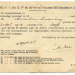 Vaccinatiebewijs: het pokkenbriefje (19e eeuw)