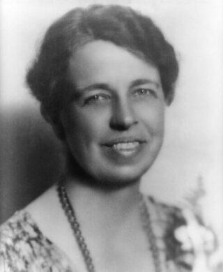 Eleanor Roosevelt in 1933
