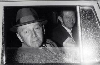 Hendrik Adams met partijvoorzitter Koekoek, 1966