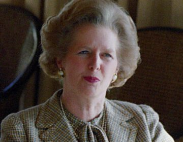 Margaret Thatcher in 1984