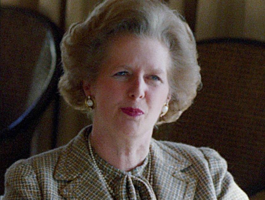 Margaret Thatcher in 1984