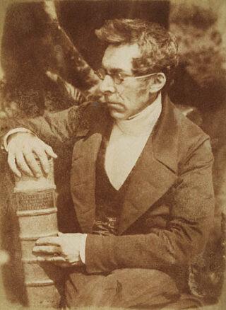 Abraham Capadose - Gefotografeerd door David Octavius Hill.