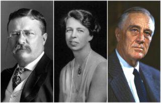 De Roosevelts - Theodore, Eleanor en Franklin Delano