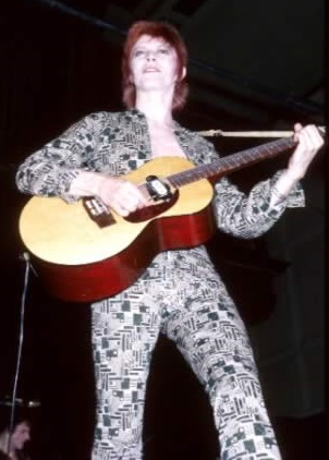 David Bowie als Ziggy Syatdus, 1972