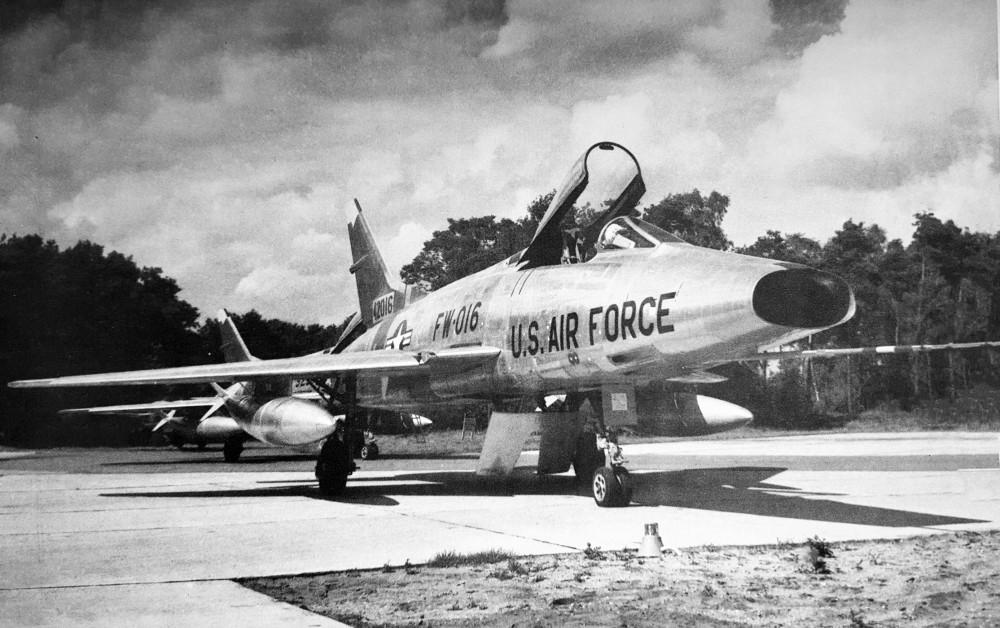 De F-100 Super Sabre - Foto: NMM