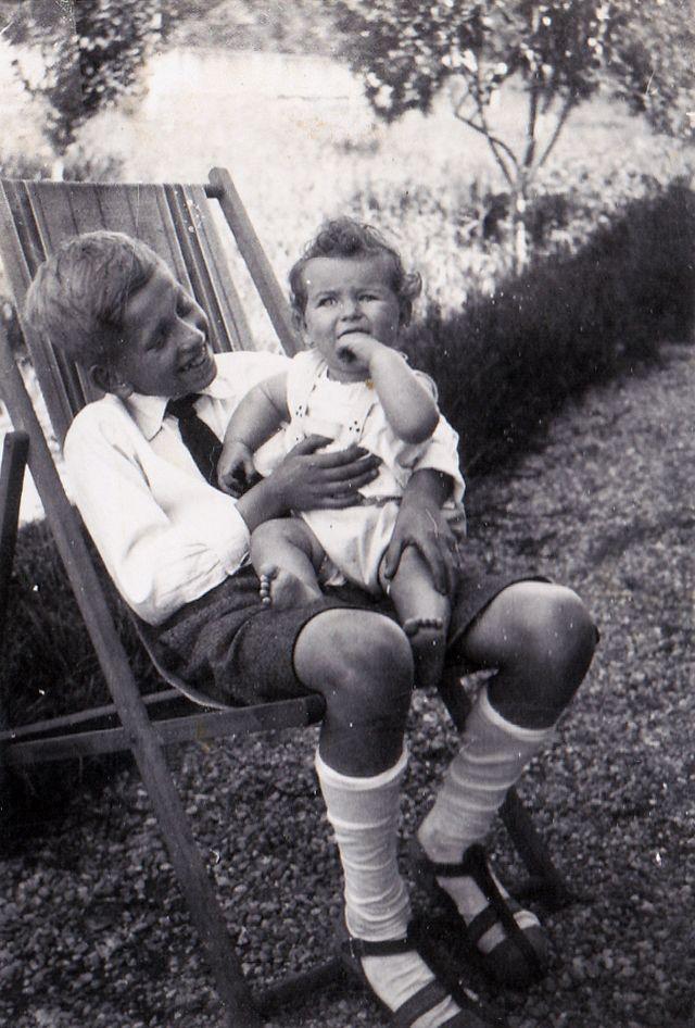 Hans Joachim en Sarah in 1937