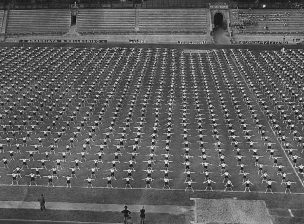 Activiteit van de Gioventù Italiana del Littorio in Milaan, jaren 1930