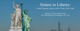 Promotie voor de tentoonstelling 'Sisters in Liberty'