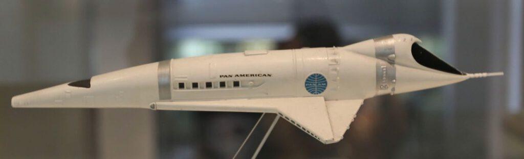 Model van het ruimteschip Orion III uit '2001: A Space Odyssey'